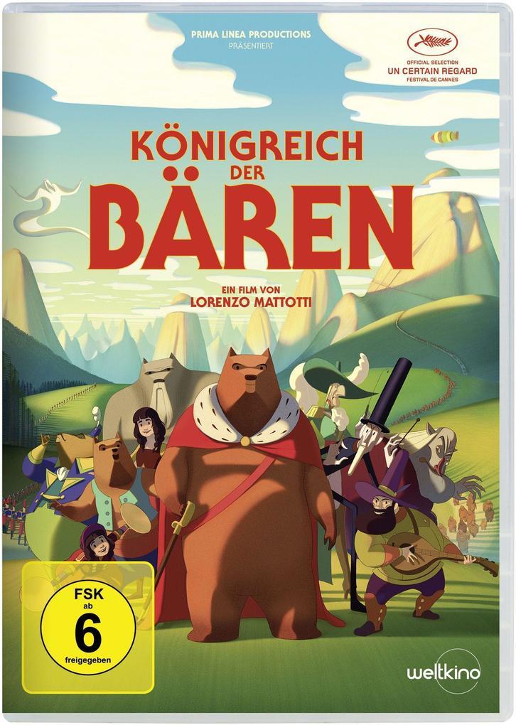 Königreich der Bären als DVD