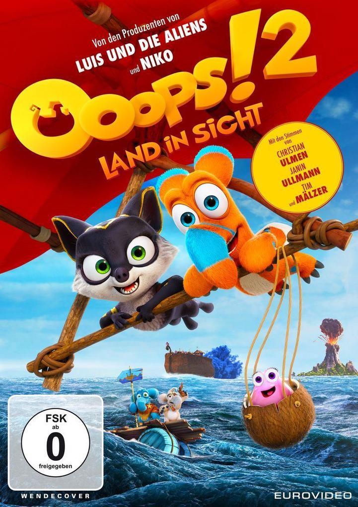 Ooops! 2 - Land in Sicht als DVD