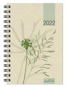 Taschenkalender Graspapier 2022 - Büro-Kalender 10x14 - 1W/2S - 4-sprachig - 639-0640-1
