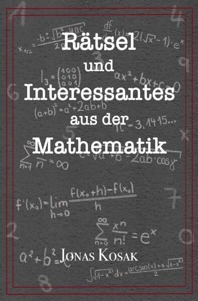 Rätsel und Interessantes aus der Mathematik als Buch (kartoniert)