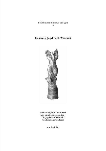 Cusanus' Jagd nach Weisheit als Buch (kartoniert)