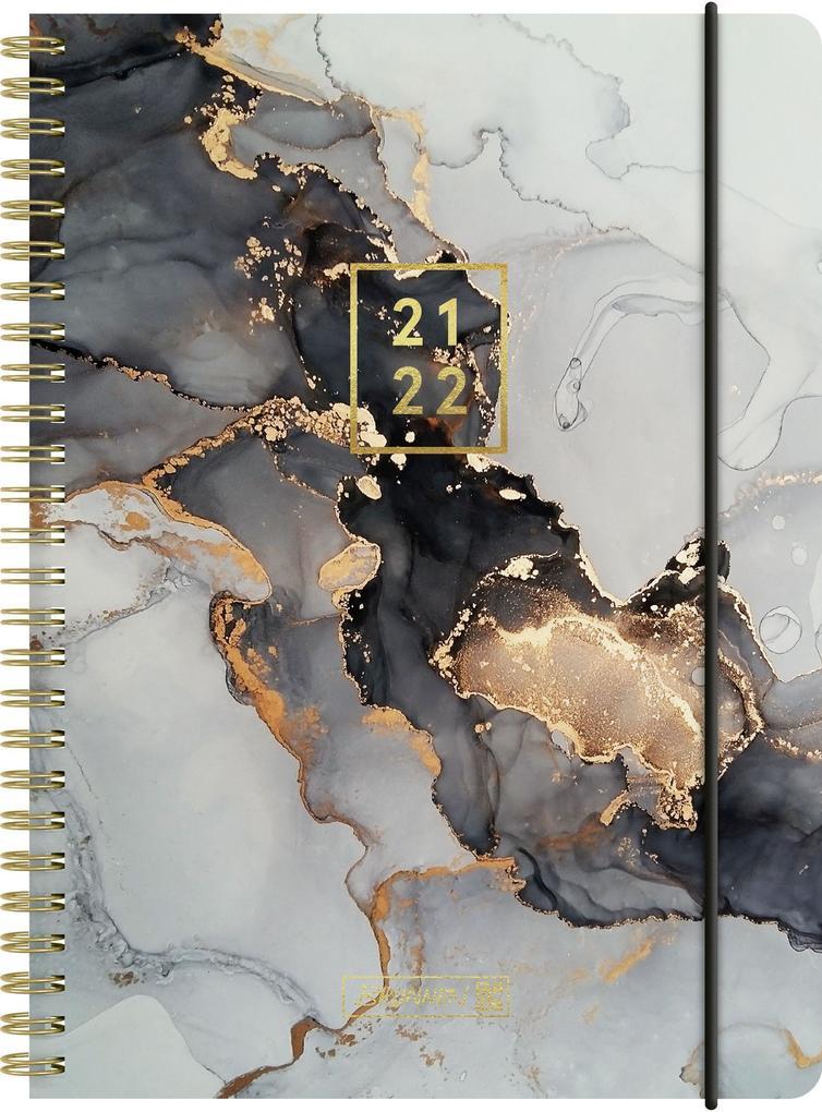 """""""BRUNNEN 1072155082 Wochenkalender/Schülerkalender 2021/2022 """"""""Gemstone"""""""" """" als Kalender"""