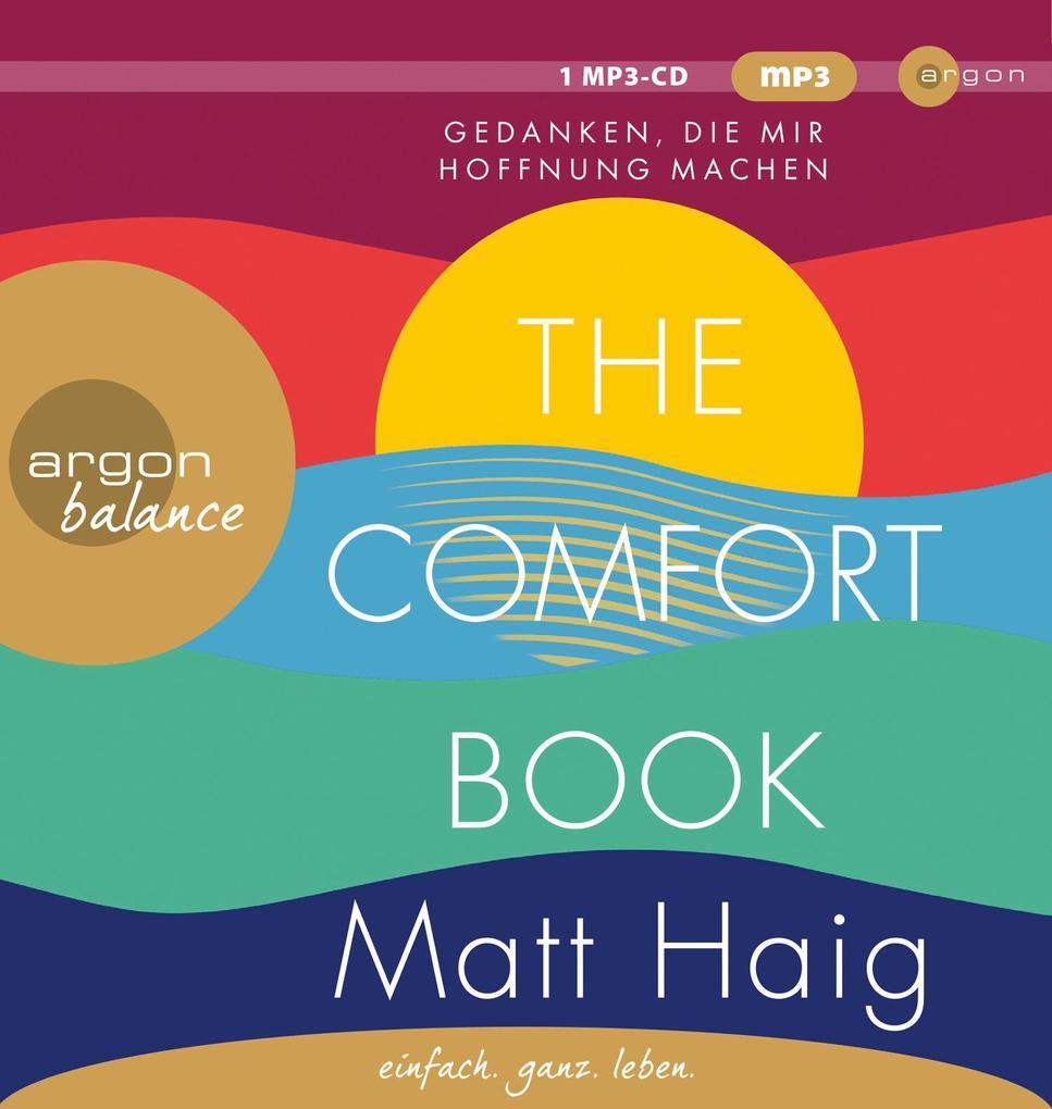 The Comfort Book - Gedanken, die mir Hoffnung machen als Hörbuch CD