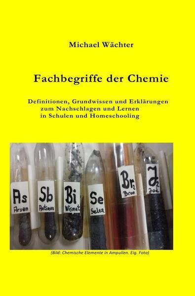 Fachbegriffe der Chemie als Buch (kartoniert)