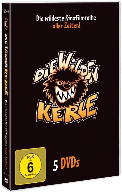 Die Wilden Kerle 1-5 Sammelbox als DVD