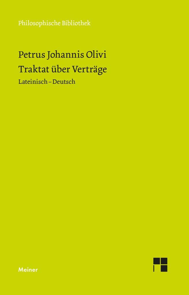 Traktat über Verträge als eBook pdf