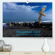 Neuseeland 2022 - Planer mit Bildern einer Radreise (Premium, hochwertiger DIN A2 Wandkalender 2022, Kunstdruck in Hochglanz)