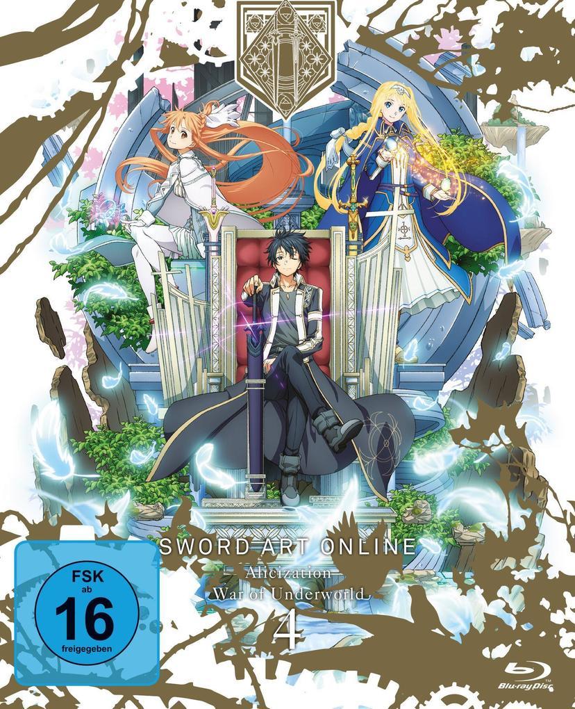 Sword Art Online: Alicization - War of Underworld - Staffel 3 - Vol.4 als Blu-ray
