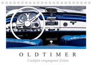 Oldtimer - Cockpits vergangener Zeiten (Tischkalender 2022 DIN A5 quer)