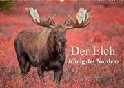 Der Elch - König des Nordens (Wandkalender 2022 DIN A2 quer)
