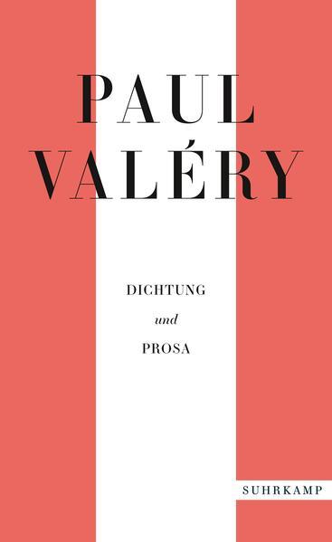 Paul Valéry: Dichtung und Prosa als Taschenbuch