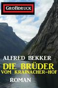 Die Brüder vom Krainacher Hof: Roman. Großdruck Taschenbuch