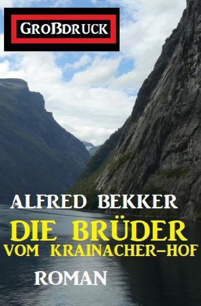 Die Brüder vom Krainacher Hof: Roman. Großdruck Taschenbuch als Buch (kartoniert)