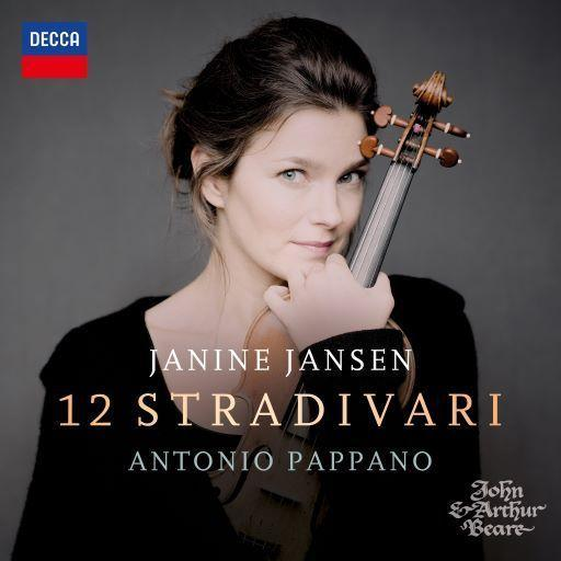 Jansen / Pappano: 12 Stradivari als CD