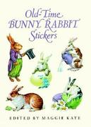 Old-Time Bunny Rabbit Stickers: 23 Full-Color Pressure-Sensitive Designs