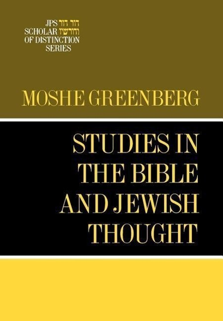 Studies in the Bible and Jewish Thought als Buch (gebunden)