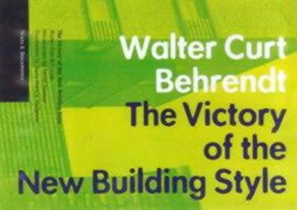 The Victory of the New Building Style als Taschenbuch
