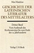 Geschichte der lateinischen Literatur des Mittelalters. Tl.3