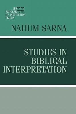 Studies in Biblical Interpretation als Buch (gebunden)