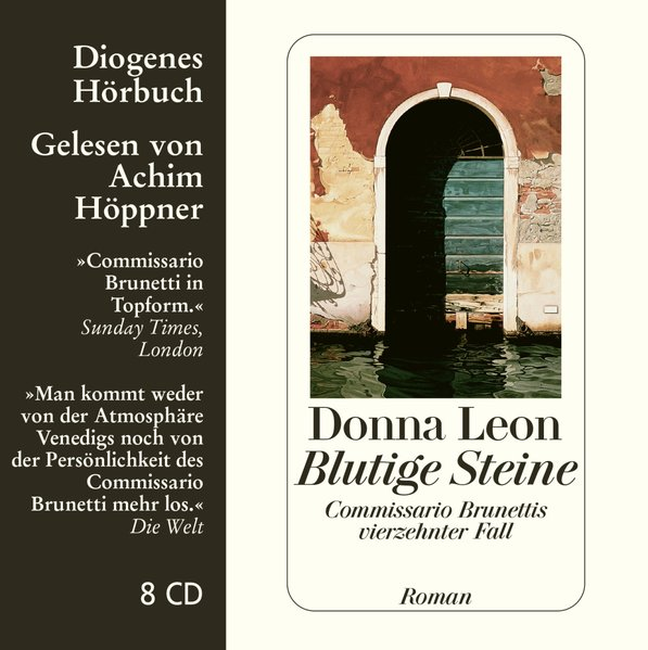 Blutige Steine, 8 Audio-CDs als Hörbuch CD