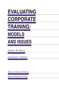 Evaluating Corporate Training: Models and Issues