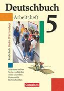 Deutschbuch Realschule 05. 9. Schuljahr. Arbeitsheft mit Lösungen. Baden-Württemberg