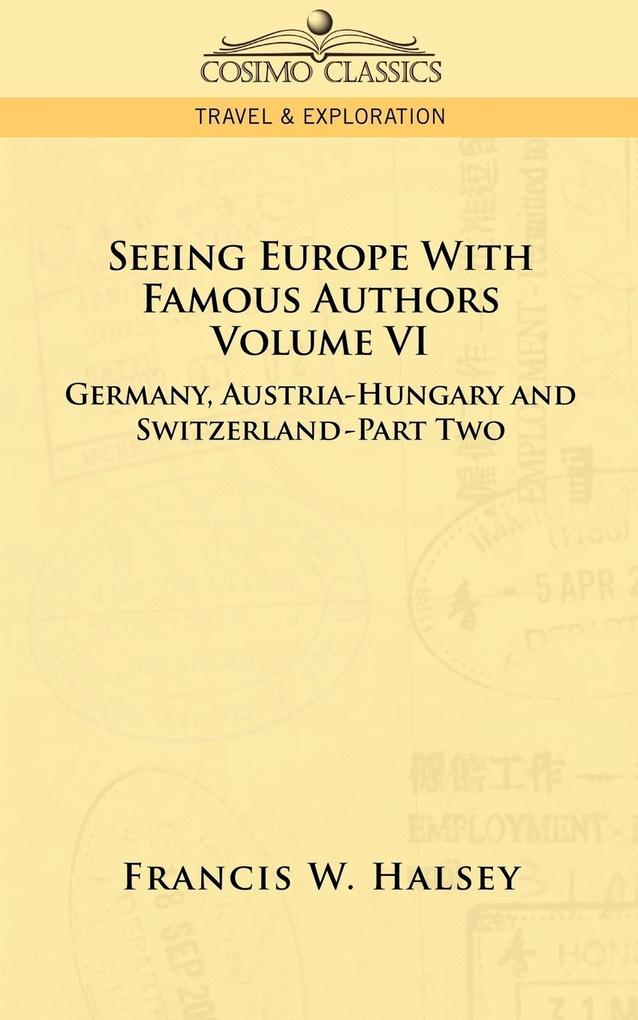 Seeing Europe with Famous Authors als Taschenbuch