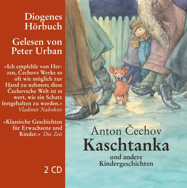 Kaschtanka und andere Kindergeschichten, 2 Audio-CD als Hörbuch CD