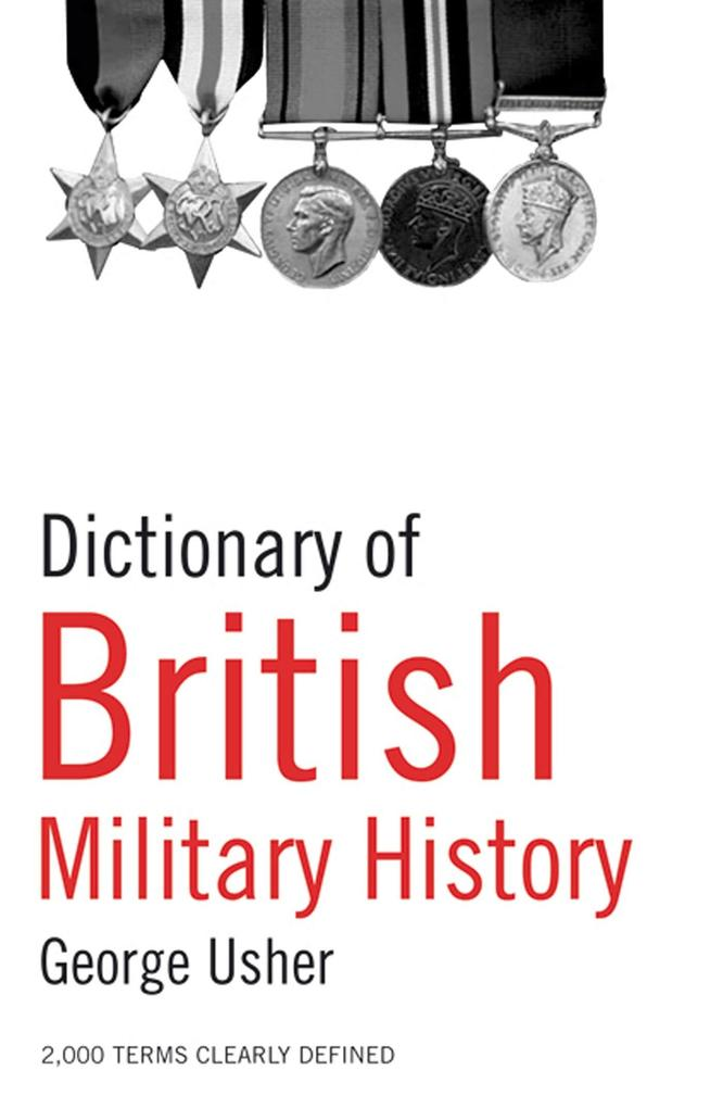 Dictionary of British Military History als Taschenbuch