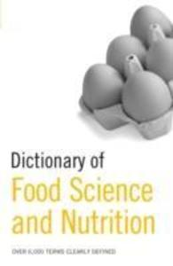 Dictionary of Food Science and Nutrition als Buch (gebunden)