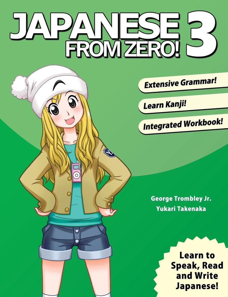 Japanese From Zero! 3 als Buch (kartoniert)