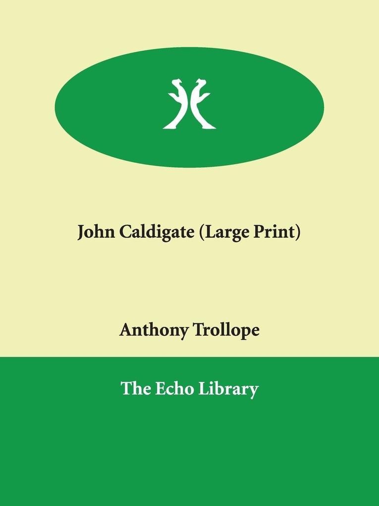 John Caldigate als Taschenbuch