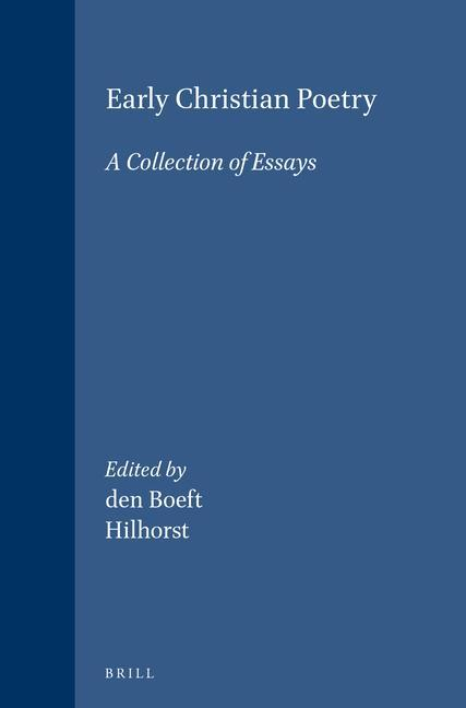 Early Christian Poetry: A Collection of Essays als Buch (gebunden)