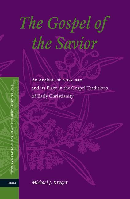 The Gospel of the Savior: An Analysis of P.Oxy 840 and Its Place in the Gospel Traditions of Early Christianity als Buch (gebunden)