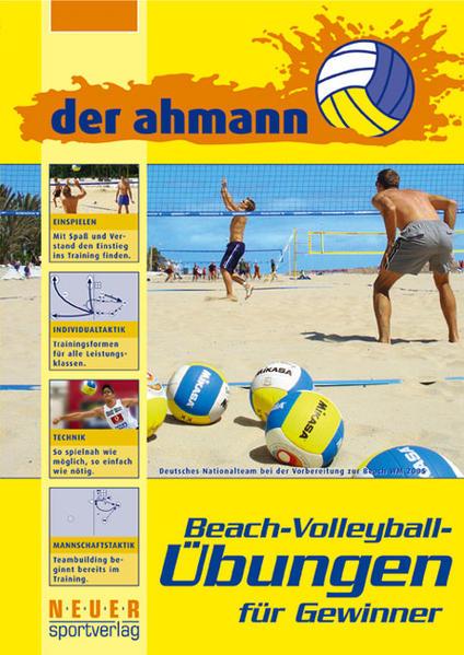 der ahmann - Beach-Volleyball-Übungen für Gewinner als Buch (kartoniert)
