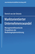 Marktorientierter Unternehmenswandel
