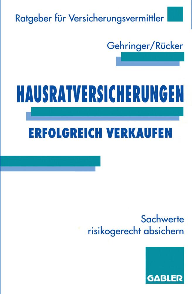 Hausratversicherungen erfolgreich verkaufen als Buch (kartoniert)