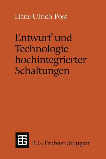 Entwurf und Technologie hochintegrierter Schaltungen als Buch (kartoniert)