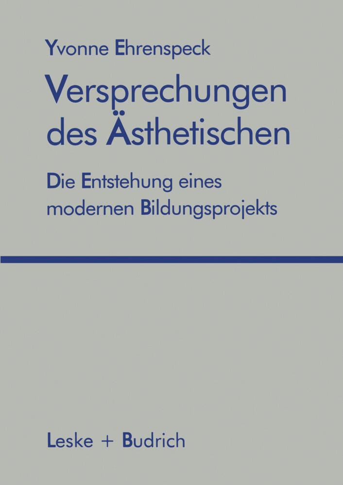 Versprechungen des Ästhetischen als Buch (kartoniert)