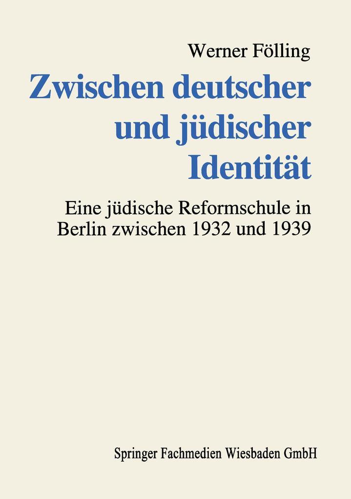 Zwischen deutscher und jüdischer Identität als Buch (kartoniert)