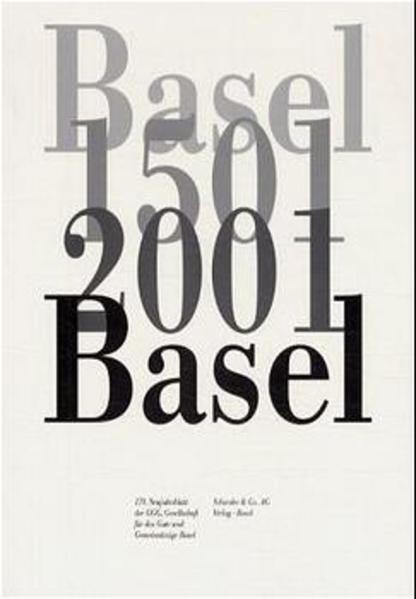 Basel 1501 - 2001 Basel als Buch (kartoniert)