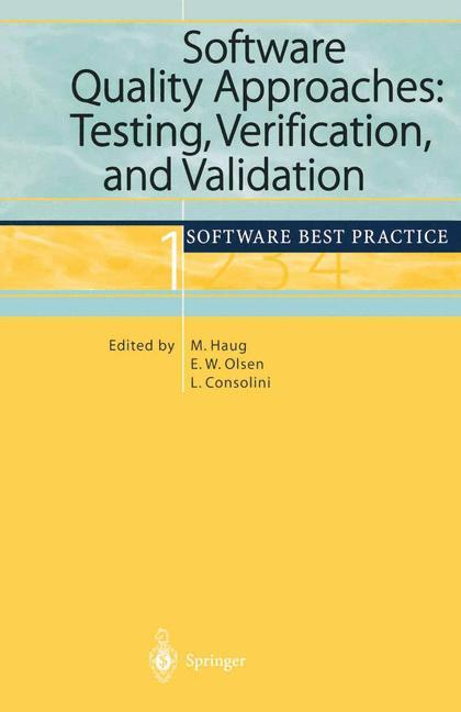 Software Quality Approaches: Testing, Verification, and Validation als Buch (gebunden)