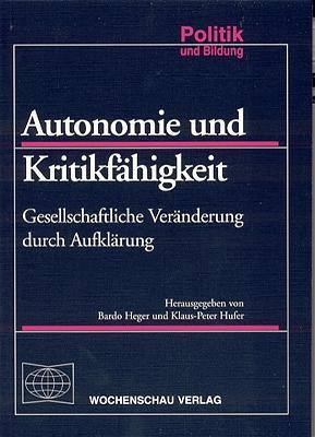 Autonomie und Kritikfähigkeit als Buch (kartoniert)