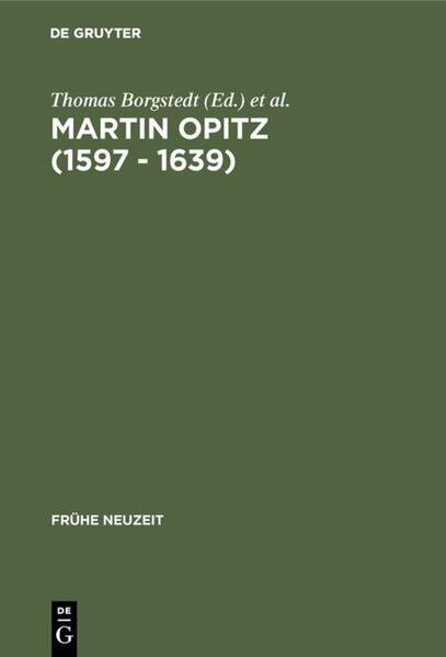 Martin Opitz (1597 - 1639) als Buch (gebunden)