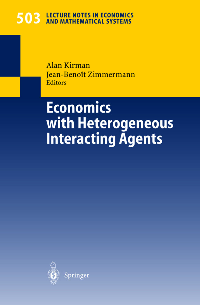 Economics with Heterogeneous Interacting Agents als Buch (gebunden)