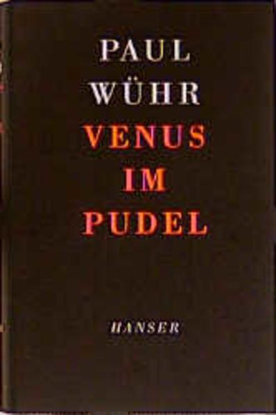 Venus im Pudel als Buch (gebunden)