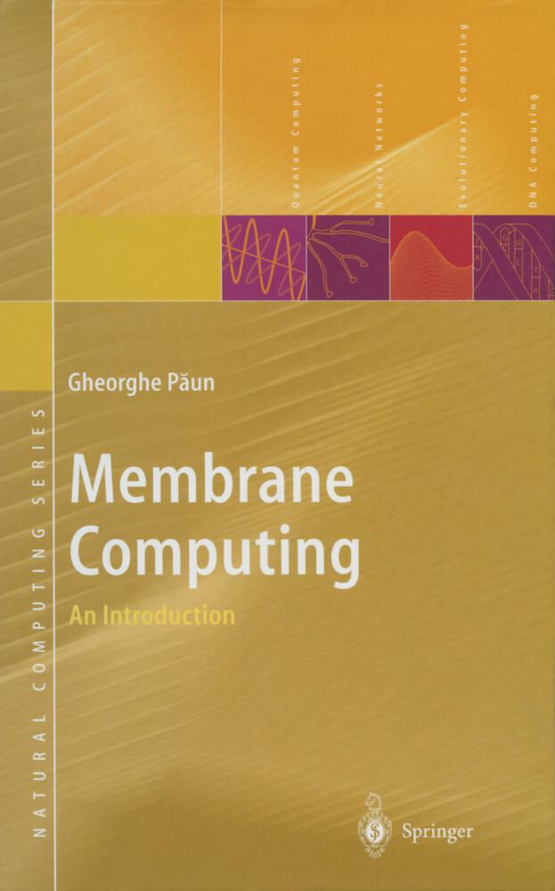 Membrane Computing als Buch (gebunden)