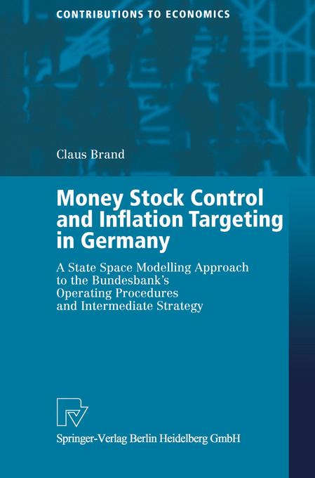 Money Stock Control and Inflation Targeting in Germany als Buch (gebunden)