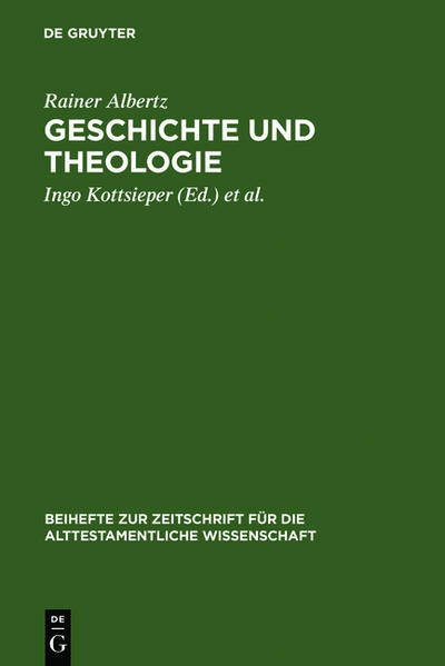 Geschichte und Theologie als Buch (gebunden)