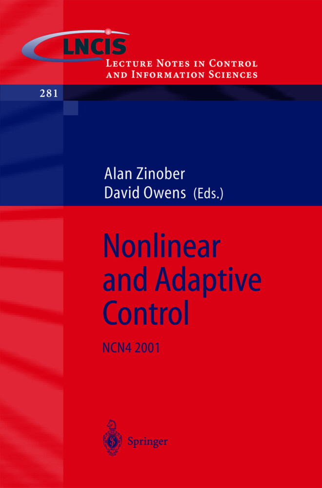 Nonlinear and Adaptive Control als Buch (gebunden)